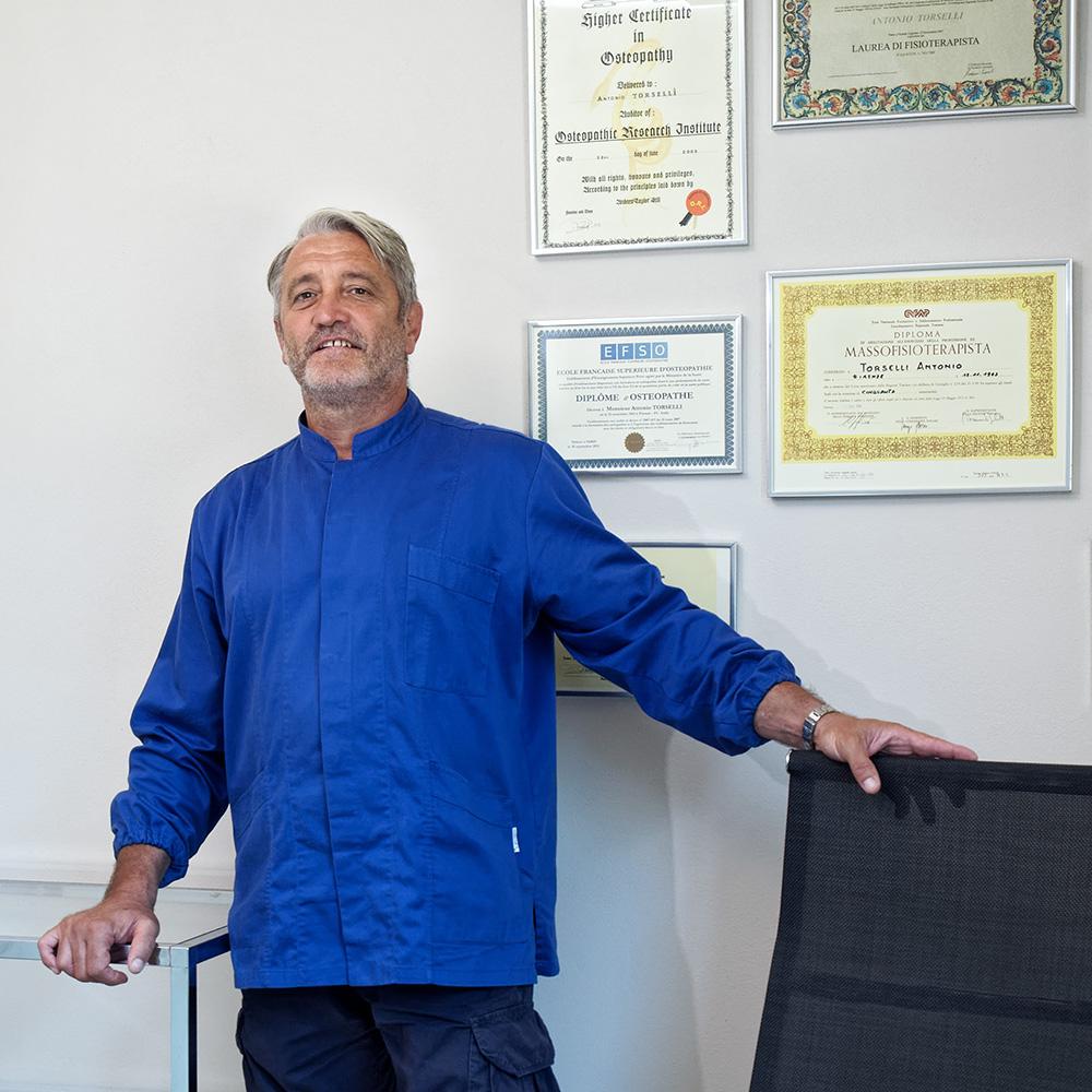 Antonio Torselli - Osteopata e Fisioterapista